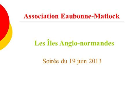Association Eaubonne-Matlock
