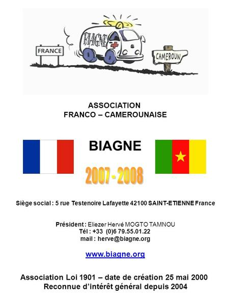 BIAGNE ASSOCIATION FRANCO – CAMEROUNAISE