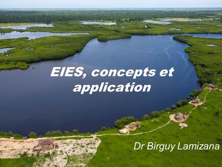 EIES, concepts et application Dr Birguy Lamizana.