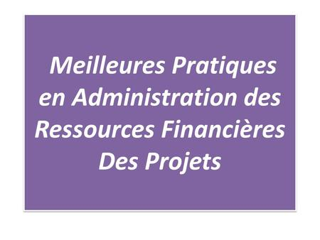 PLAN DE PRESENTATION 1 INTRODUCTION 2 AU DEMARRAGE DU PROJET