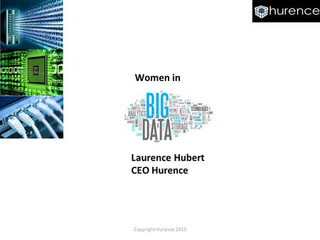 Women in Laurence Hubert CEO Hurence