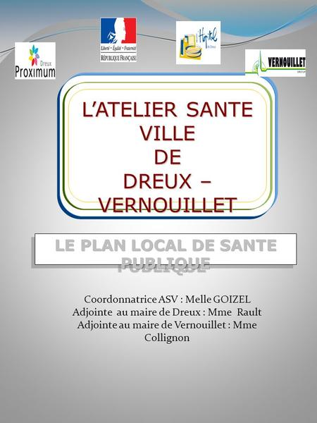 LE PLAN LOCAL DE SANTE PUBLIQUE