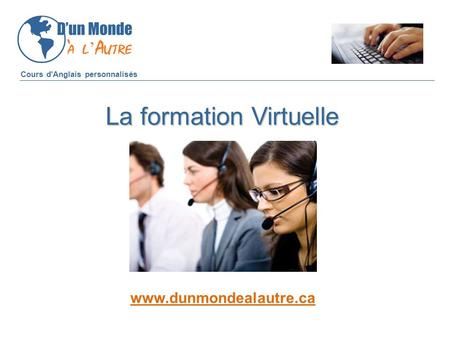 La formation Virtuelle