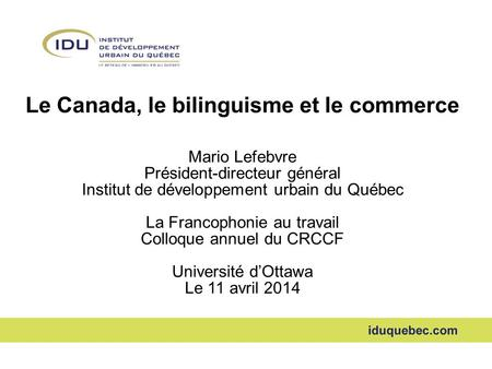 Mesure des changes les principaux indicateurs en for Commerce exterieur canada