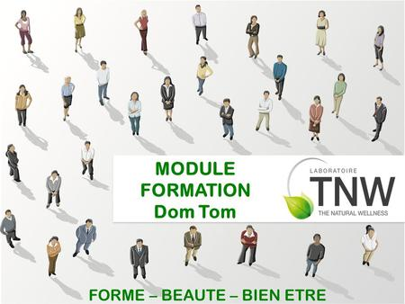 MODULE FORMATION Dom Tom