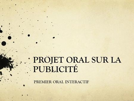 Russir une prsentation orale - JDN
