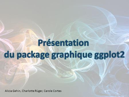 du package graphique ggplot2