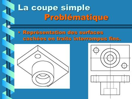 La coupe simple Problématique
