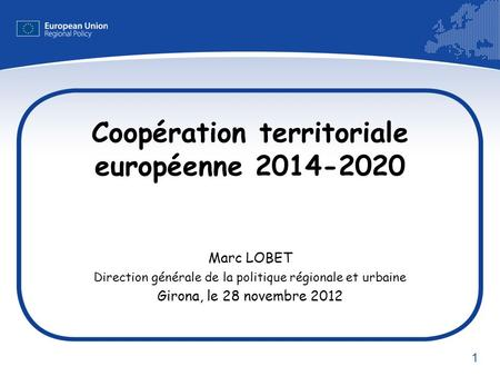 Coopération territoriale européenne