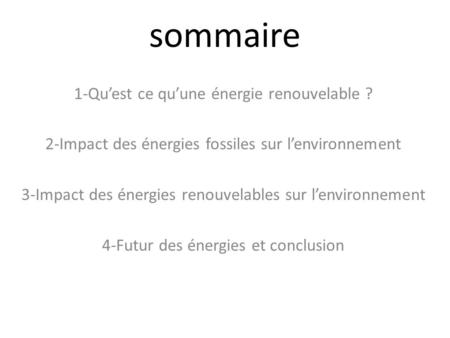 energies renouvelables ppt video online t l charger