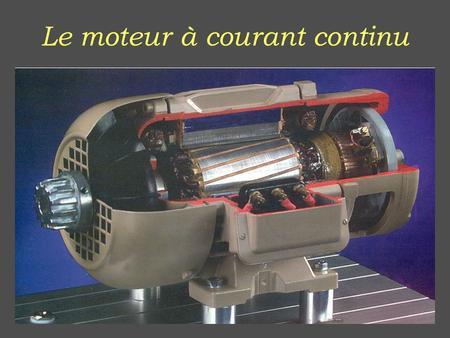 moteur courant continu