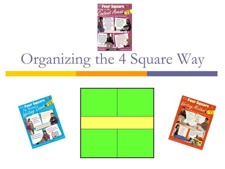 Organizing the 4 Square Way. In the beginning… Main idea in the middle All squares must relate to the main idea. La cuisine.