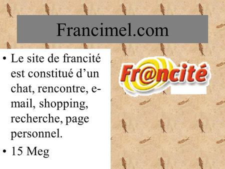 Site de rencontre shopping