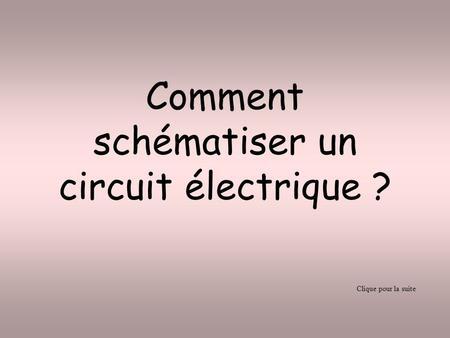 Le circuit lectrique ppt t l charger - Comment tester un circuit electronique ...