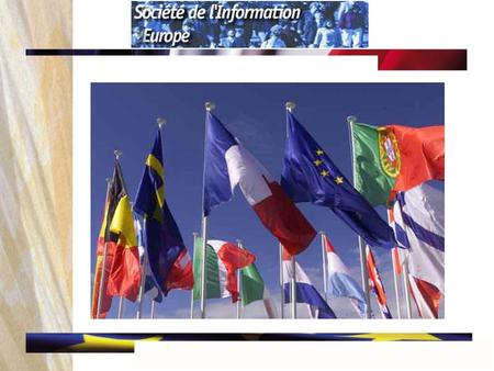 Les principaux sites de lUnion Laccès aux documents et la transparence eEurope IDA Testa Un premier exemple dapplication.