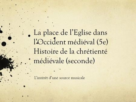 rencontres de musique médiévale du thoronet 2012
