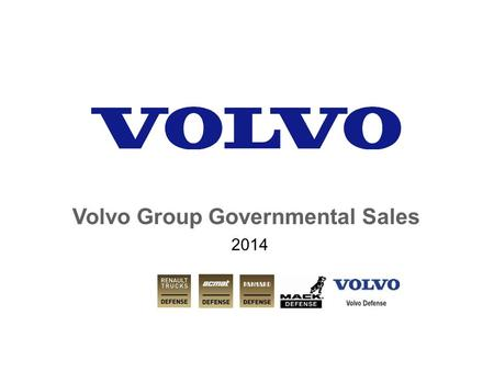 Volvo Group Governmental Sales