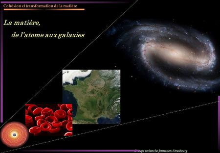 de l'atome aux galaxies