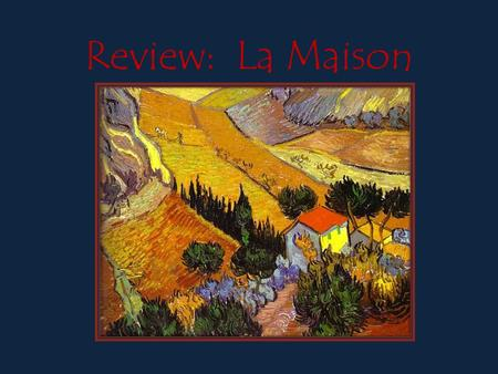 Review: La Maison. chez moi 111 South Elm Street – Construit 1910.