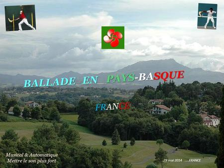 PAYS-BASQUE BALLADE EN FRANCE