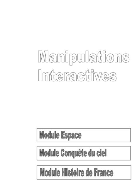 Manipulations Interactives - Ludovic TRIMBACH - Riff - Août 031.