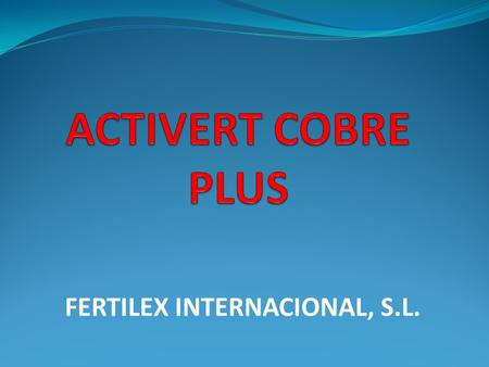 FERTILEX INTERNACIONAL, S.L.