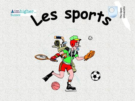 Le foot Le basket Le badminton Le golf Le tennis.