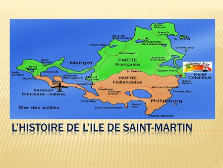 1. Introduction ……………………………………..3  La découverte de Saint-Martin …………4-5  Soualiga, Oualichi …………………………….6  Evénement traditionnelle ……………….7-18 