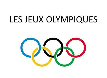 La gr ce antique les olympiques ppt t l charger - Anneau des jeux olympique ...