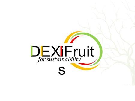 1 Formation à la prise en main de DEXiFruits avec IZIEval for sustainability DEXiFruit s.