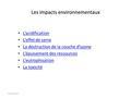 Chap1 structure thermique de l 39 atmosph re i - Consequences de la destruction de la couche d ozone ...
