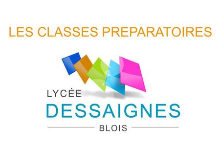 LES CLASSES PREPARATOIRES