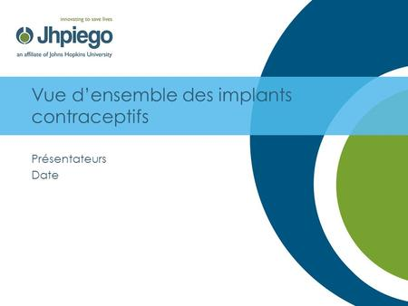 Vue d'ensemble des implants contraceptifs