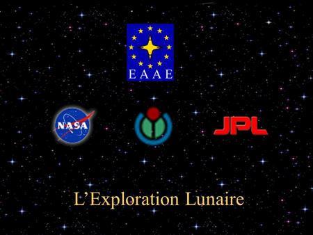L'Exploration Lunaire. Contents  Fiction  Le Programme Luna  Le Programme Apollo  SMART 1  Autres missions  L'avenir.