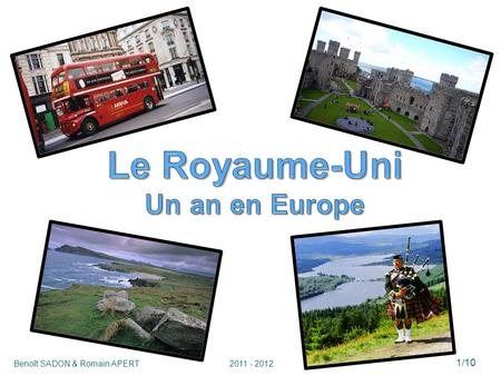 Le Royaume-Uni Un an en Europe