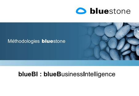 Méthodologies blue stone blueBI : blueBusinessIntelligence.