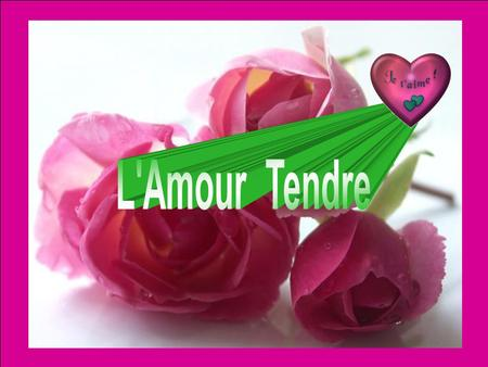 L'Amour Tendre.