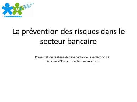 Accidents du travail enjeux t moignages et pr vention for Plan de prevention des risques entreprises exterieures
