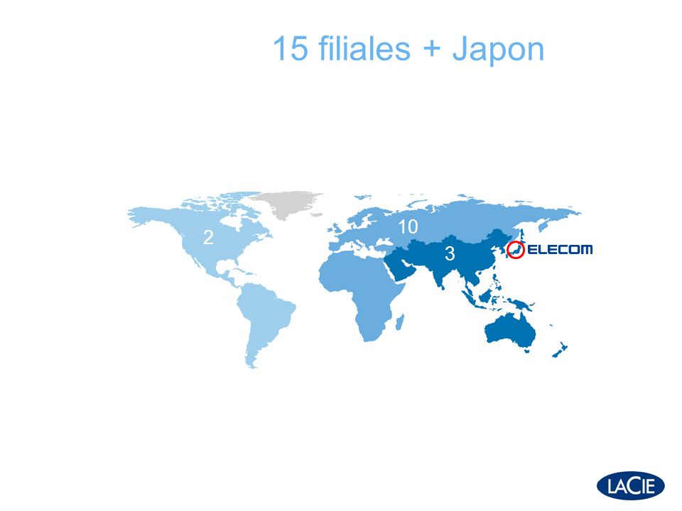 Japon : clé et atypique 5-6% du marché mondial contrôlé à 96% par des stés locales Un service de proximité est essentiel