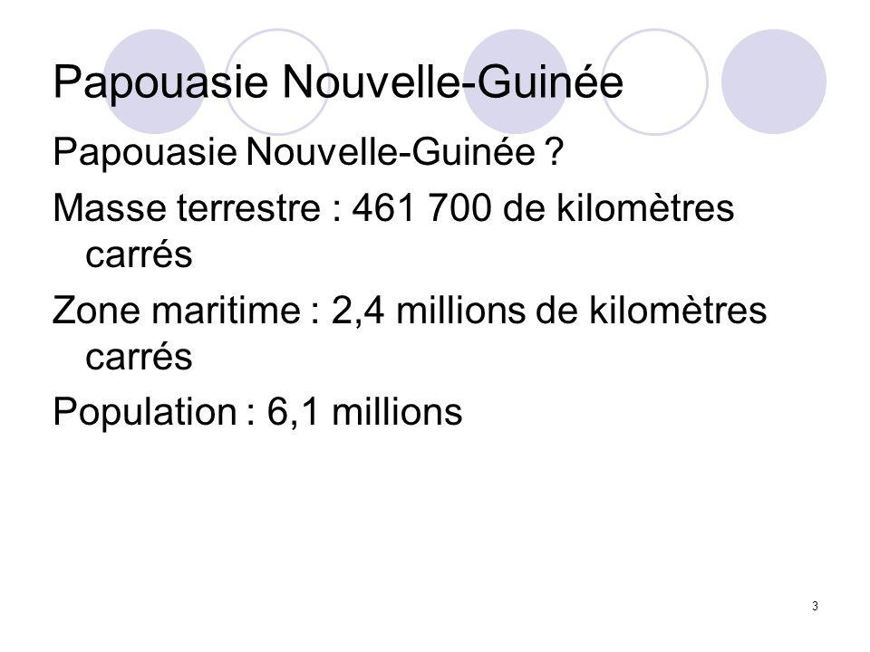 4 Une vaste ZEE : 2,4 millions km²