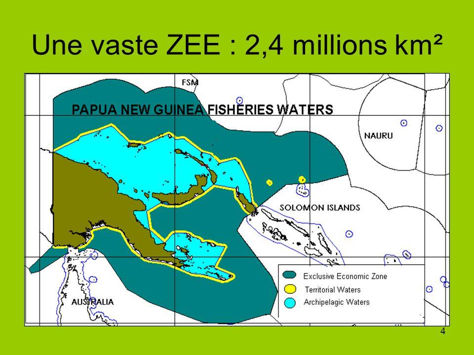 5 Infrastructures de licence Infrastructures de traitement du poisson 12 (dont 3 accréditées UE) Navires de pêche Senne coulissante : 189 (dont 7 avec pavillon PNG et 182 étrangers) Réfrigération : 86 (dont 4 avec pavillon PNG) et 82 étrangers Nb de pays disposant de la licence de navires de pavillon : 16