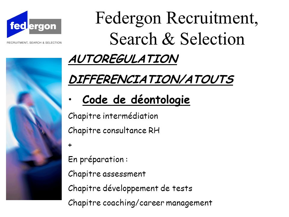 2. Academy Federgon Recruitment, Search & Selection