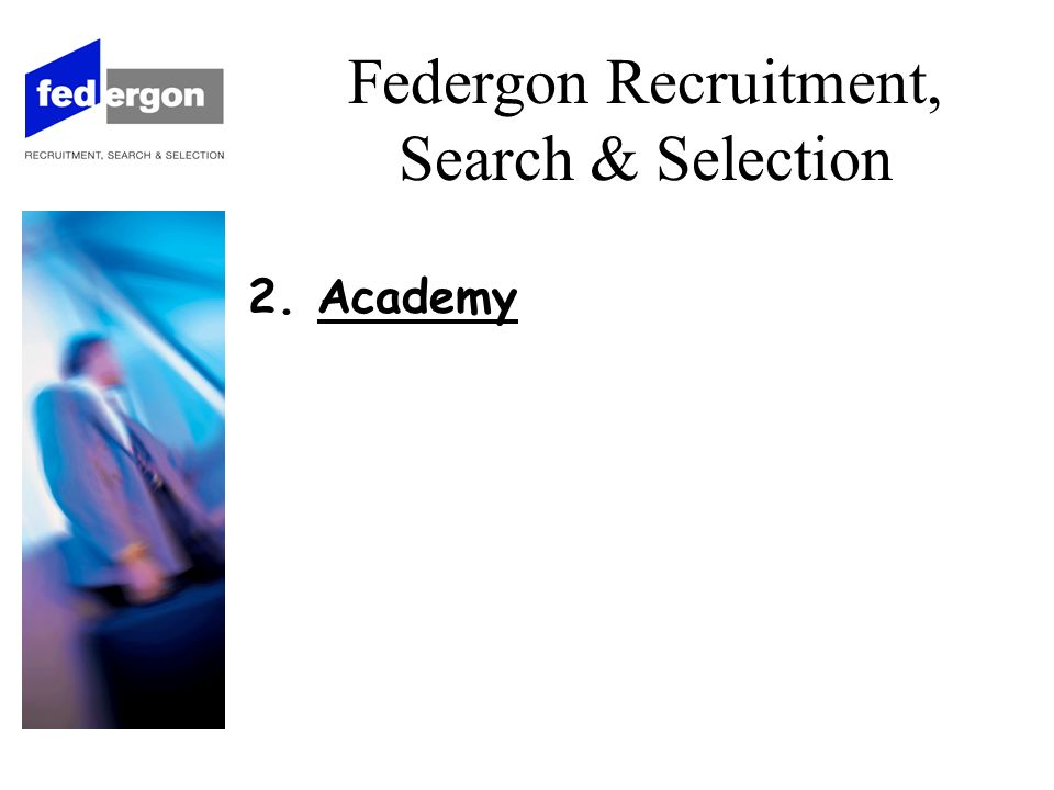 3. Procédure de plaintes Federgon Recruitment, Search & Selection