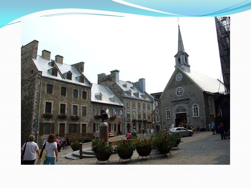 La Place où Samuel Champlain a lancé les premières édifices en 1608.