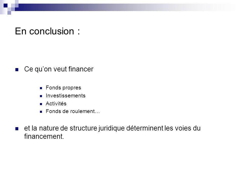 3 exposés à suivre Les financements solidaires Les financements institutionnels Les financements dits « privés »
