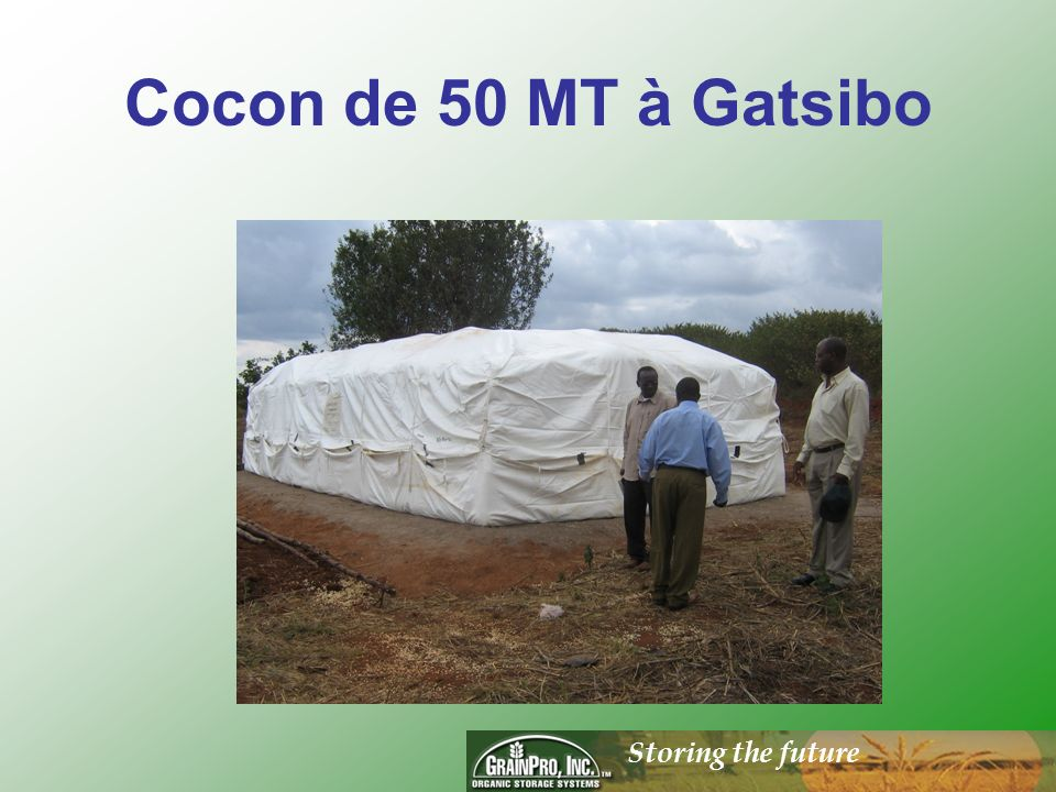 Storing the future Cocon de 50 MT à Gatsibo