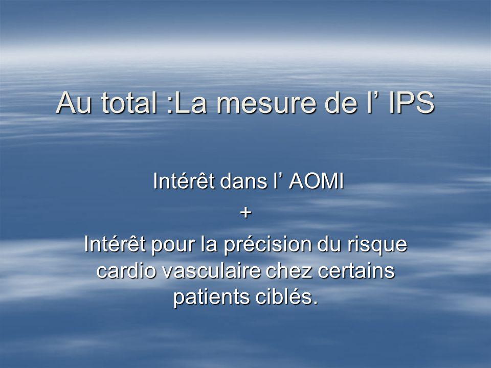 Intérêt Pratique de la mesure de l EIMc au cabinet de langéiologue 1.