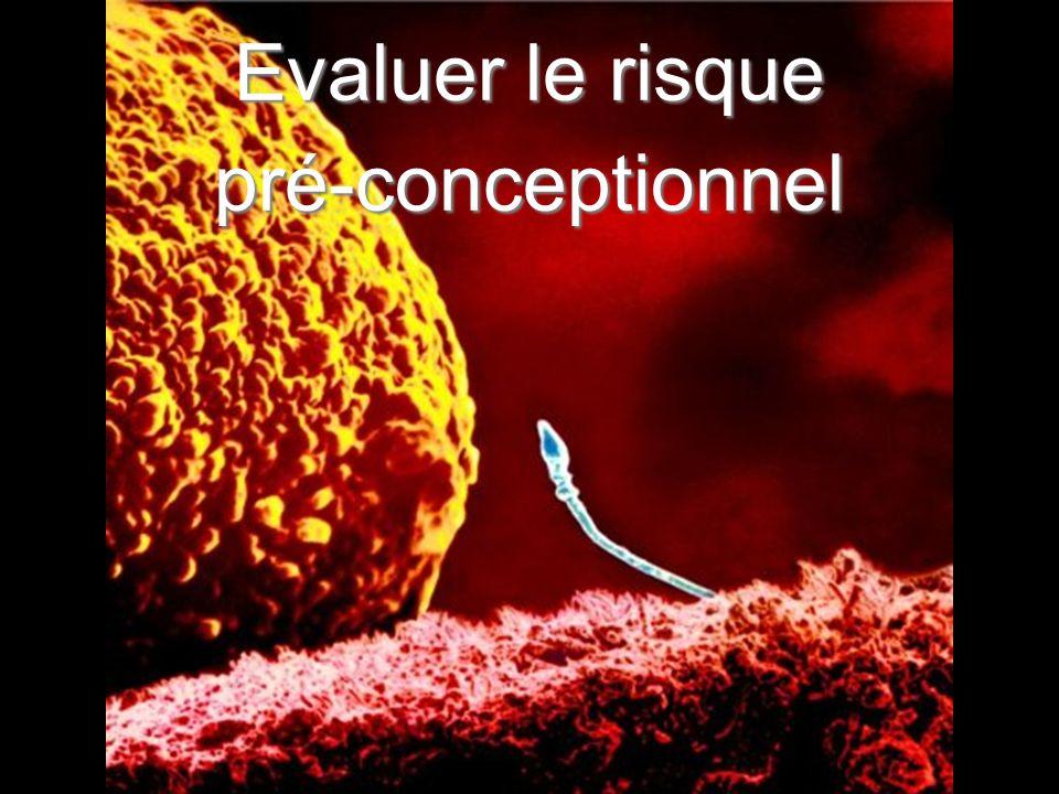 8 La prévention pré-conceptionnelle Génétique Exposition in-utero HTA Surpoids Diabète Toxiques Allo-immunisation Sédentarité Toxiques ménagers Risques professionnels Médicaments Infection