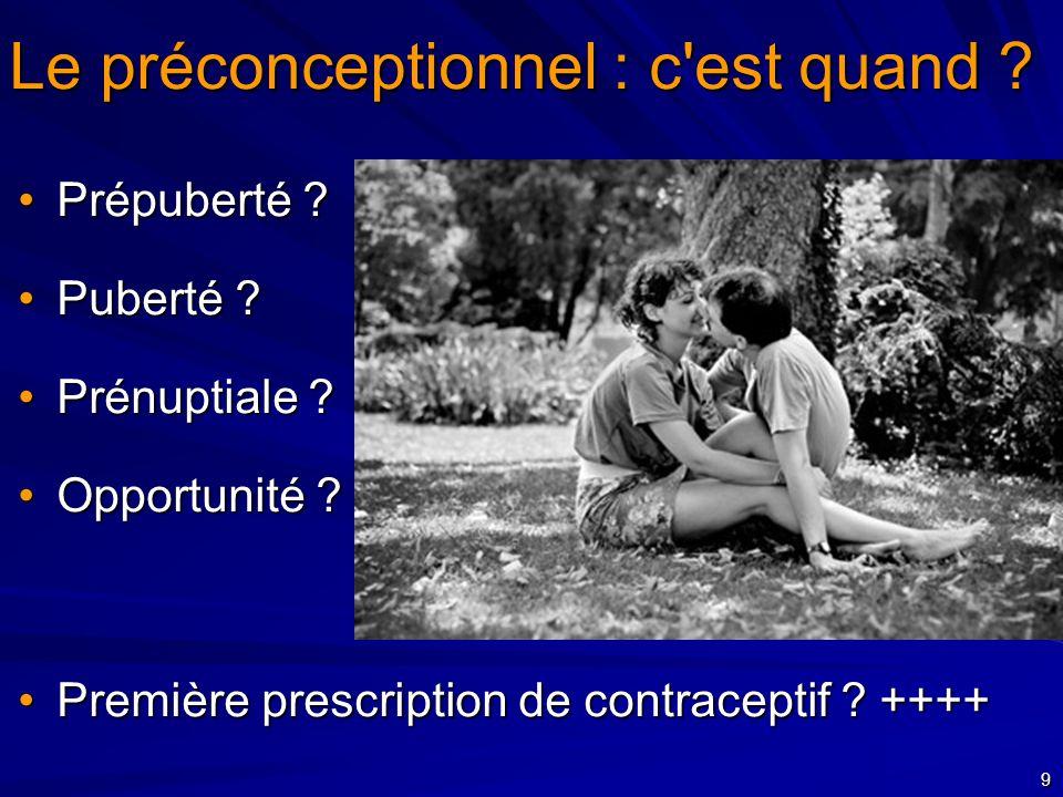 10 Une consultation pré-conceptionnelle c est bien Un suivi pré-conceptionnel en soins primaires c est mieux