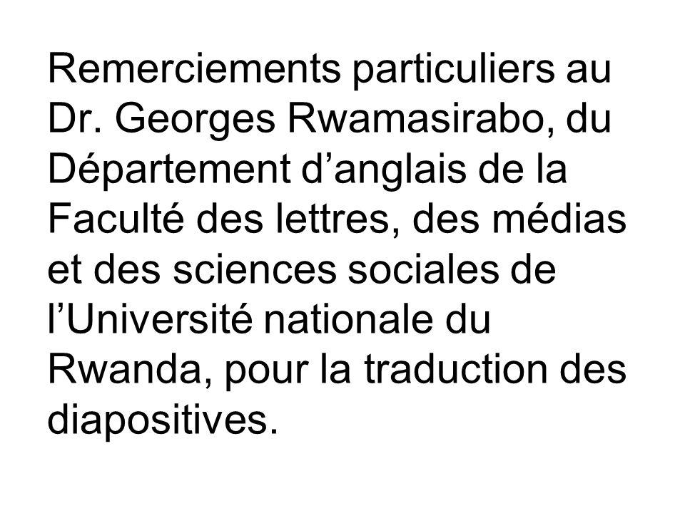 La Section sur les Discussions Barbara Gastel, MD, MPH Texas A&M University bgastel@cvm.tamu.edu